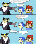 Sonic issue 232 alternate ending by Scurvypiratehog