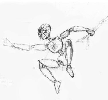 Robo Spidey.. I guess? by Lunament