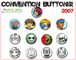WIP Convention Buttons by Snigom