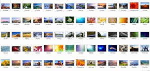 Windows 7 7048 Wallpaper pack by Kruper11