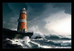 Lighthouse by 9Ech0es