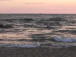 Lake Michigan at Sunset 9 by ArrsistableStock