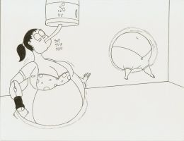 COM Chell liquid bloating by Robot001