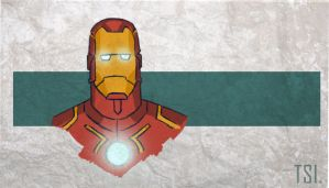 Iron man by sketchingtuhin