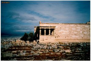 Acropolis of Athens by PsyKingdom