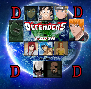 The team of Defenders of the Earth by steeven7620