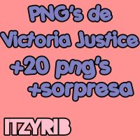 Victoria Justice png's by ItzyriB