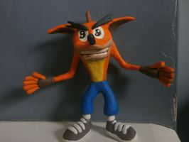 Crash Bandicoot Japanese Model (Failed Attempt) by FierceTheBandit