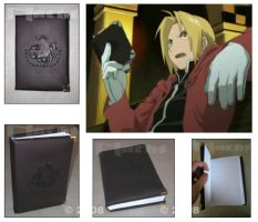 Edward Elric's Pocket Book by LauNachtyr