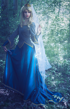 Sleeping Beauty - Historical Gown by ayral