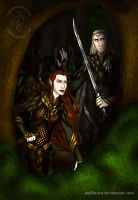 Commission: The Hobbit: Ambush by wolfanita