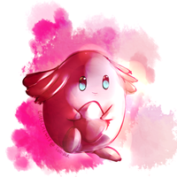 Chansey doodle by swadloons