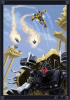 Transformers  Bumble Rumble by carefulconan
