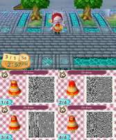 ACNL QR Code: Oz's Dress (from MapleStory) by Duskus