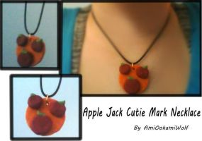 Apple Jack Cutie Mark Necklace (For Sale) by Amiookamiwolf