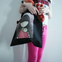 I HEART GOTH - Tote Bag by gorjuss