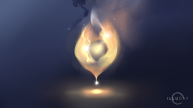 Illuday #37 - Fire by Illuday