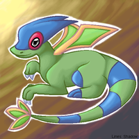 Shiny Flygon by Gpotious
