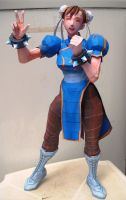 Chun-li papercraft by christopherdepaula