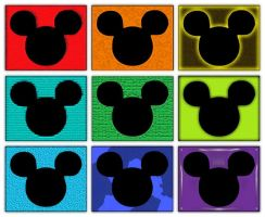Mouse Ear Pop Art by andy-pants