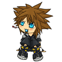 Custom Sora - KHII by Highwind-Sniper