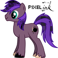 Introducing my OC: Pixel Ink by Predo50