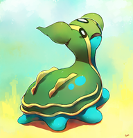 Gastrodon (tutorial) by PinkGermy