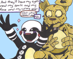 FNAF OTP 5EVER 7: GIVE ME SOME CREDIT by yodana