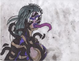 Pete's Gals: Symbiote Queen Felicia by ChahlesXavier