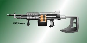 FN-AXE 18 - machine gun by Bomb18