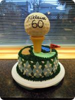 Golf Cake by cake4thought