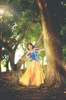 Disney Snow White : Where am I? by oruntia