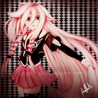 IA vocaloid 3 fan art by DarkReiZero