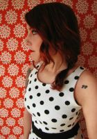 Polka Dots and Red by Jessica-Lorraine-Z