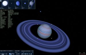 Space Engine Gas planet with ring system by SchnuffelKuschel