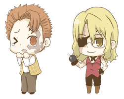 Baccano Chibis by spiffychicken