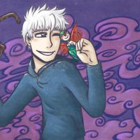 RotG - Jack Frost x Baby Tooth by Cheshire-no-Neko