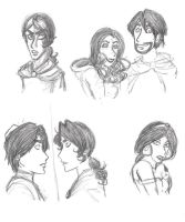 Aladdin Sketches by Goten0040