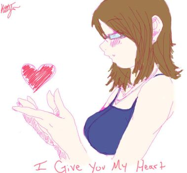I give you my heart by AnimeLuver16