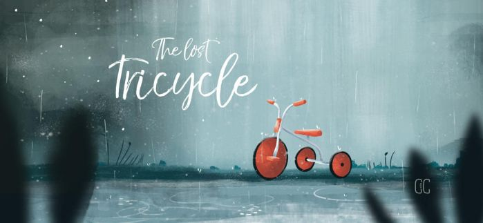 The lost tricycle by CookiesOChocola