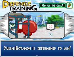 Digimon Mockup Screenshot - Training Sessions by Bunni89