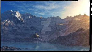 Mountain Castle by Lance66