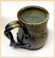 Salt Fired Mug by CreativelyStrange