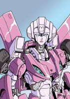 Arcee colors new by BDixonarts