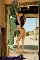 SEXY BABE THROATLIFTING A LARGE MAN by 12beauties
