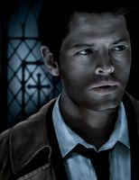 Castiel by whimsycatcher
