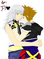soriku finally together by okane-tsunami