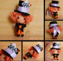 Mad Hatter string doll by Em-Ar-Ae
