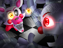 I'm The Only Mangled Here. by FNaF2FAN