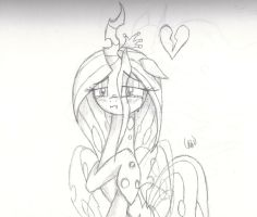 Sad Chrysalis by Ethereal-Desired